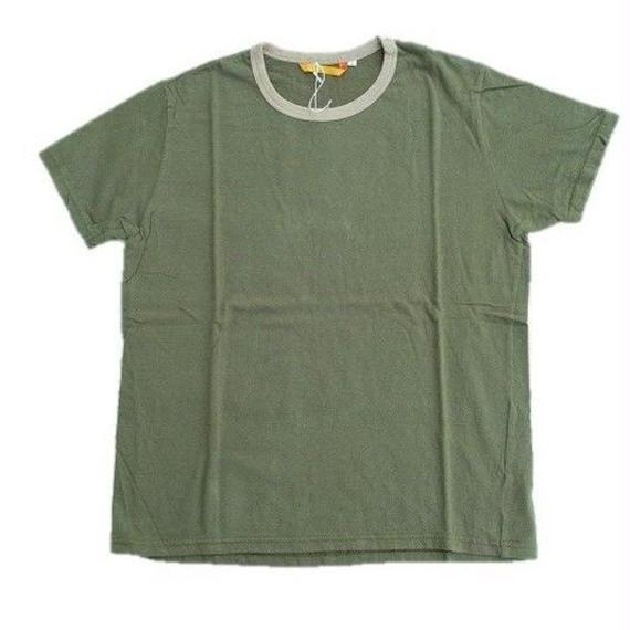 another20thcentury(アナザートゥエンティースセンチュリー)  リンガーTee   OLIVE