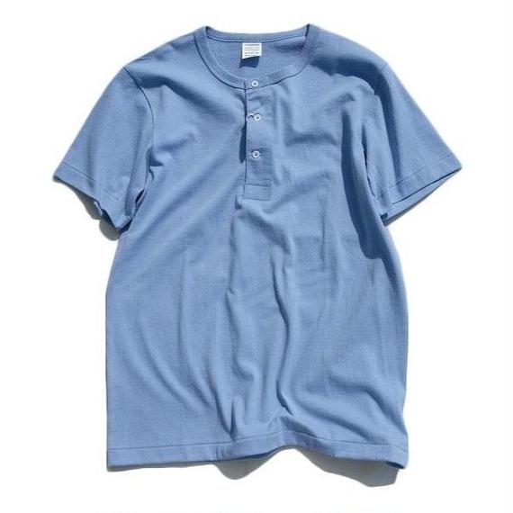 *A VONTADE(アボンタージ)   14/- Tube Henly Neck S/S  BABY BLUE