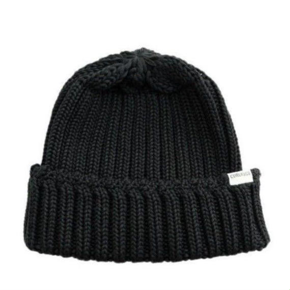 CURLY(カーリー)   CLOUDY KNIT CAP  BLACK