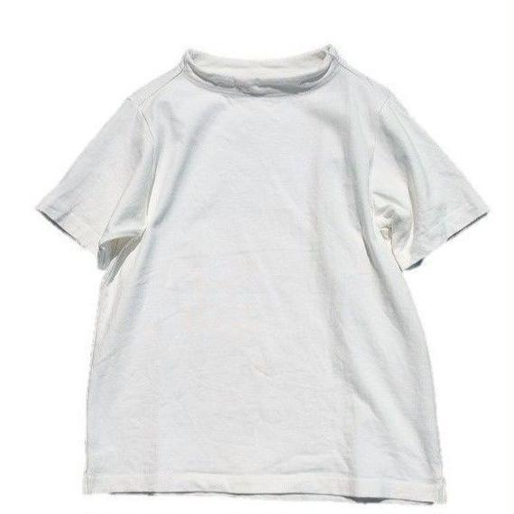 nisica(ニシカ)   ガンジーネックTEE  WHITE