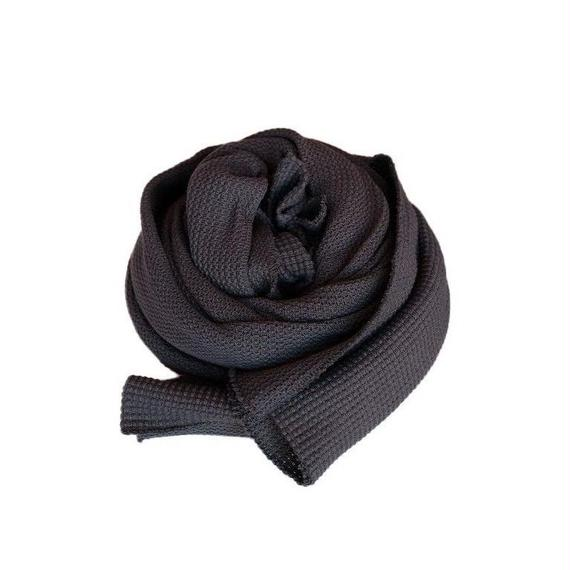CURLY(カーリー)   CLOUDY STOLE   INKBLACK