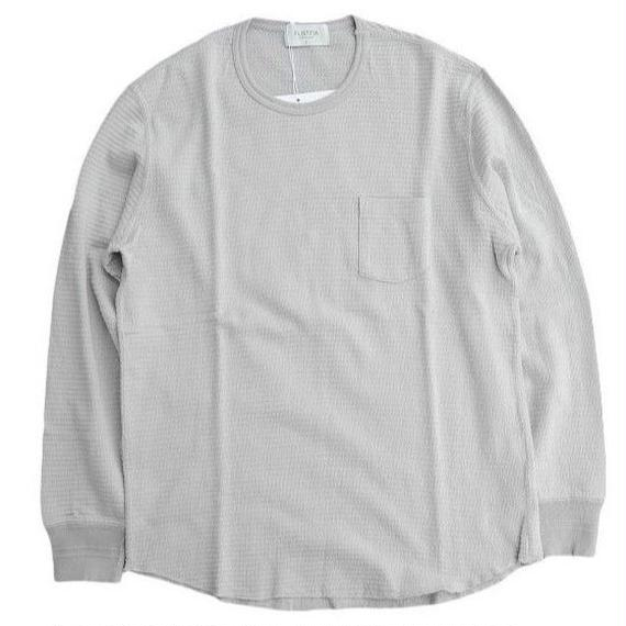FLISTFIA(フリストフィア)   Crew Neck Thermal  GRAY