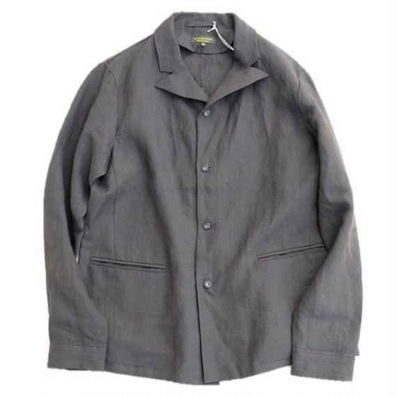 *A VONTADE(アボンタージ)   Peaked Shirt Jacket  BLACK