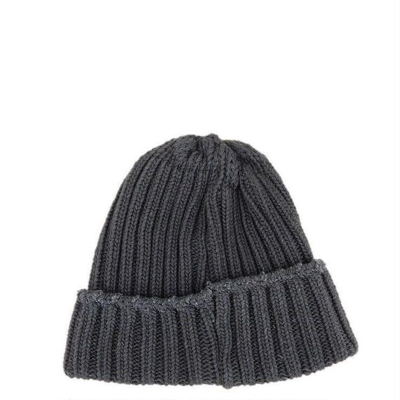 CURLY(カーリー)    MAZARINE KNIT CAP   BLACKDENIM