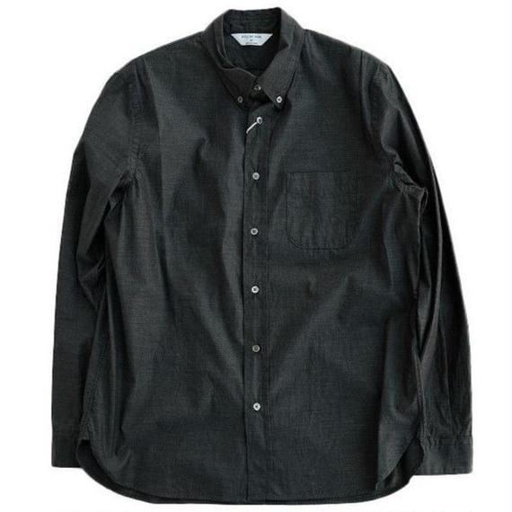 STILLBYHAND(スティルバイハンド)   ボタンダウンシャツ  CHARCOAL