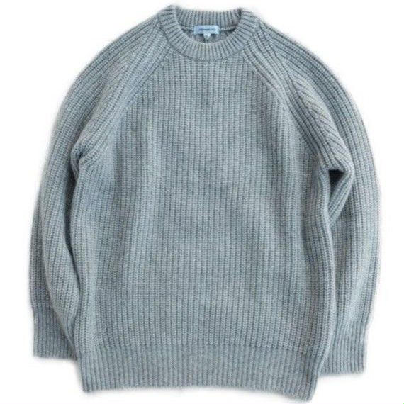 ORDINARY FITS(オーディナリーフィッツ)   GARMENT KNIT   GRAY