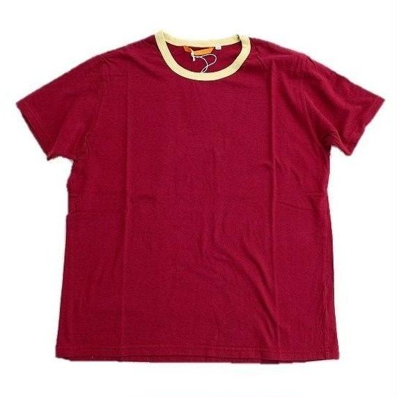 another20thcentury(アナザートゥエンティースセンチュリー)  リンガーTee   BORDEAUX