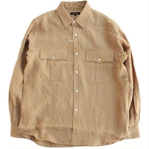 *AVONTADE(アボンタージ)  Safari Shirt   TAN