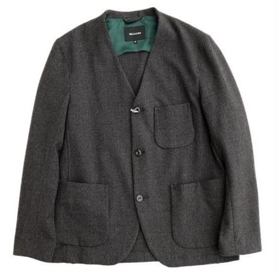 DELICIOUS(デリシャス)   Stretch Relax Jacket  DARKGRAY