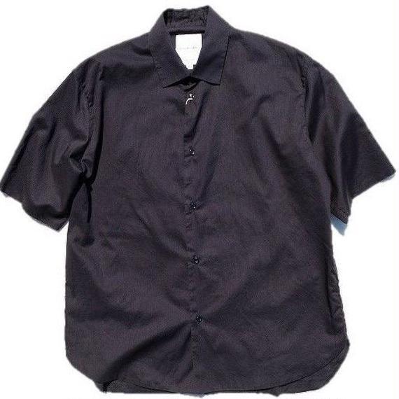 STILL BY HAND(スティルバイハンド)   ハーフスリーブシャツ  BLACK
