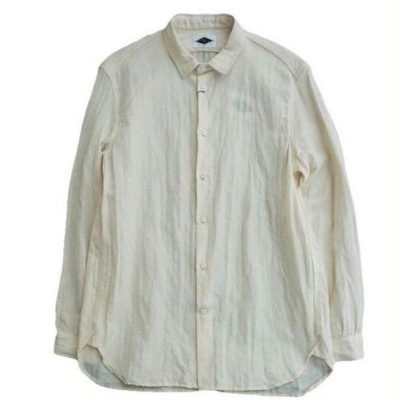 MOSODELIA(モソデリア)   REGULAR SHIRTS  WHITE