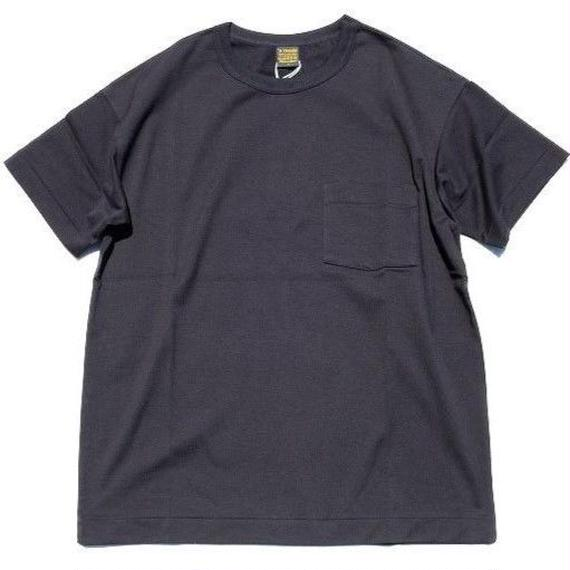 *A VONTADE(アボンタージ)   6.5oz Silket Pocket T-shits LooseFit  black