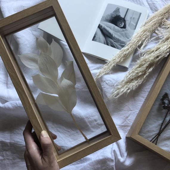 flower BOX  white rusukasu