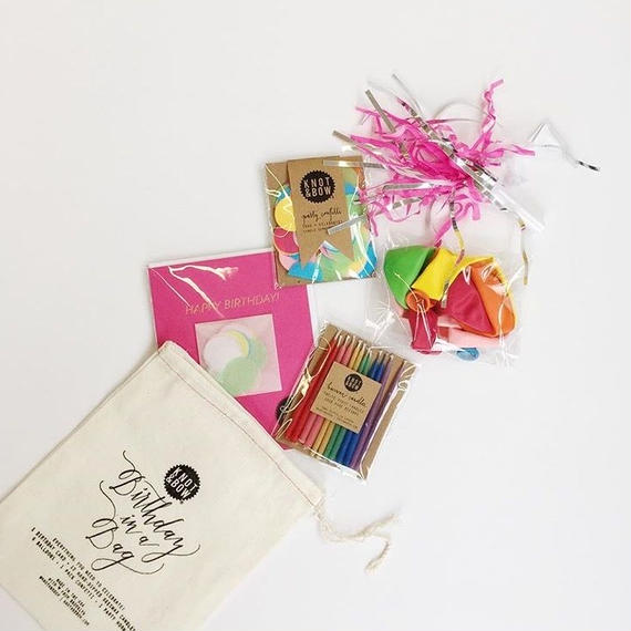 《KNOT&BOW》BIRTHDAY IN A BAG