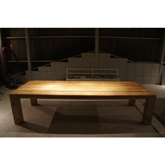 エイジングウッド テーブル vintage