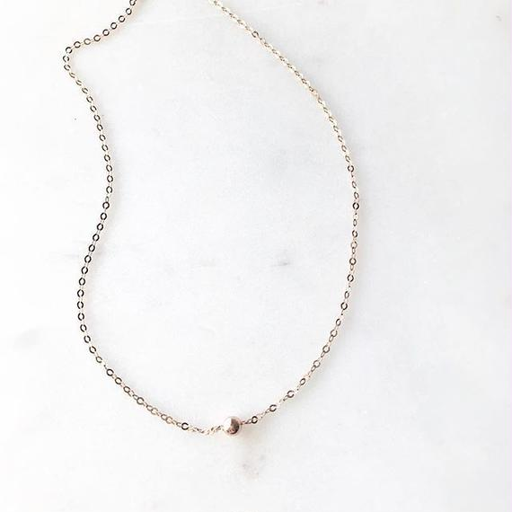 LILY Necklace (Rose gold filled)