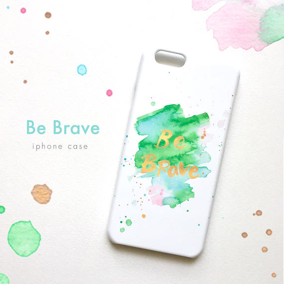 #1001 Be Brave iphoneケース
