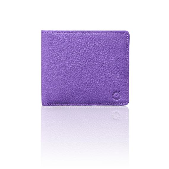 "made in Ryogoku ""粋"" HOKUSAI   Billfold Wallet  (Viola)"