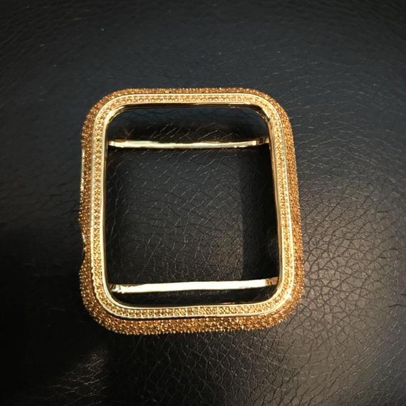 アップルウォッチ カバー 42mm スワロフスキー ゴールド