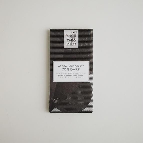 ARTISAN CHOCOLATES 70% DARK CHOCOLATE