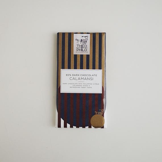 DARK CHOCOLATE WITH CALAMANSI