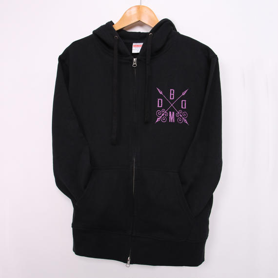 KAgaMI Design MAID ZIP UP HOODIE Winter-Spring Color