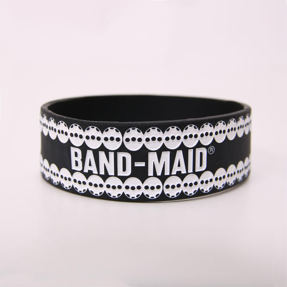 LOGO RUBBER BAND Black/White