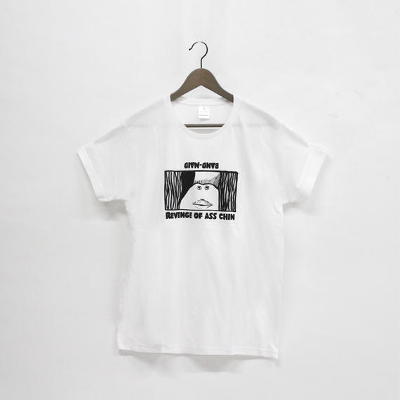 ASS CHIN T-SHIRT White