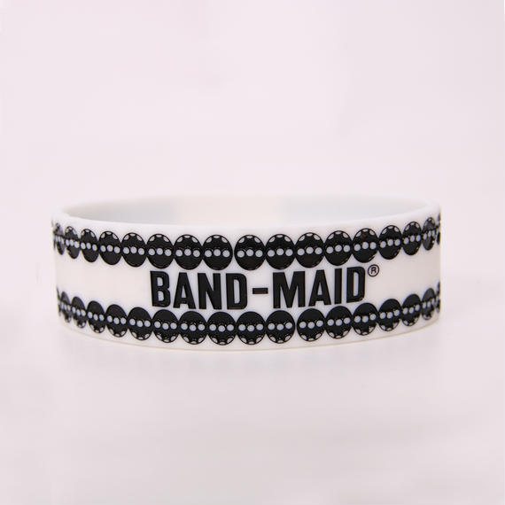 LOGO RUBBER BAND White/Black