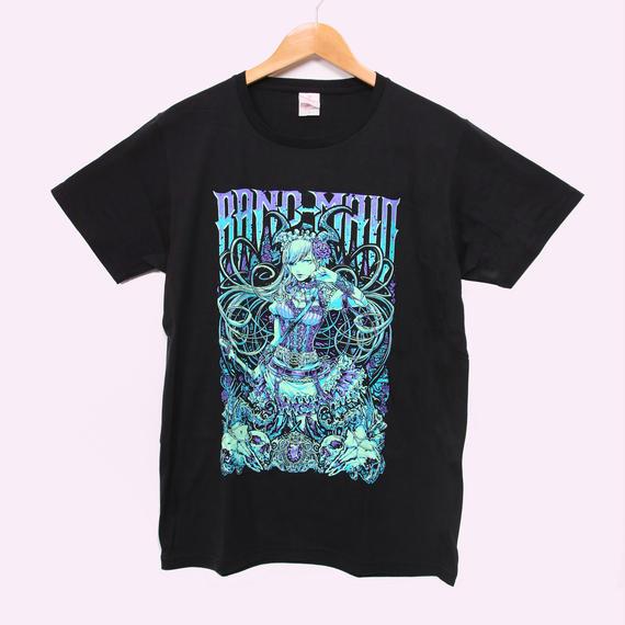 KAgaMI Design 初One-man お給仕 Tour 2017 T-SHIRT