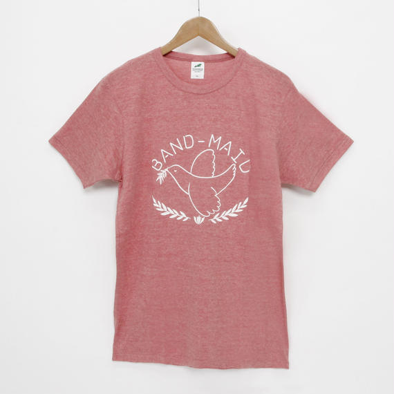 Small Pigeon T-SHIRT HEATHER RED