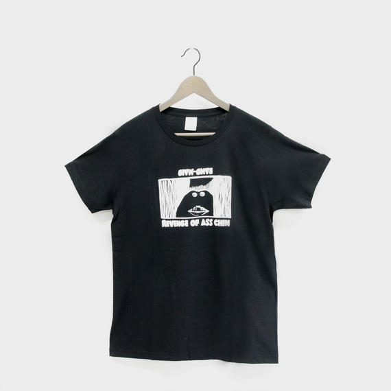 ASS CHIN T-SHIRT Black