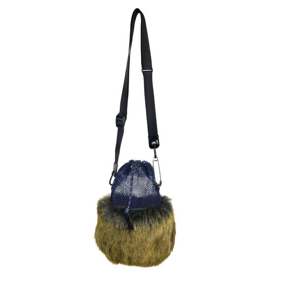 FAUX FUR MINI BAG/NV