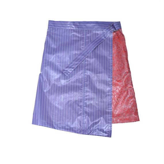 受注アイテム Wrap‐around skirt/SKY