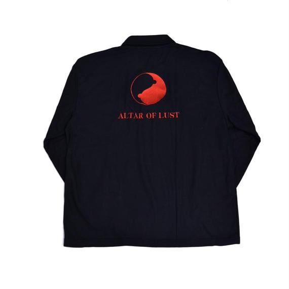 BANZAI×EGETUNA Polo-shirt/BK
