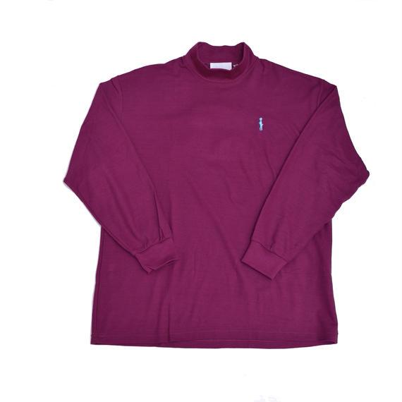 受注アイテムBANZAI×EGETUNA Polo-neck sweater/WINE