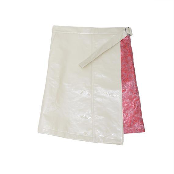 受注アイテム Wrap‐around skirt/WH