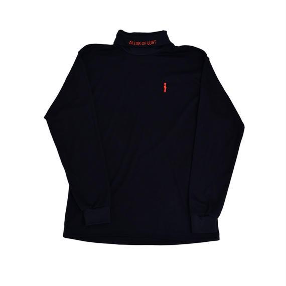 BANZAI×EGETUNA Mockneck sweater/RED