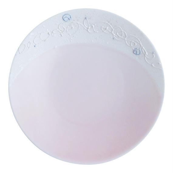 蓮糸 丸中皿 ピンク