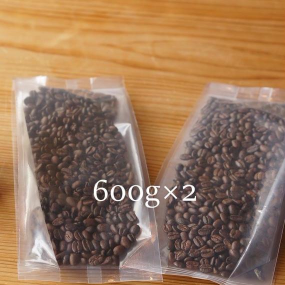 【CCコース コーヒー豆のみ】コーヒー豆1200g定期便※コーヒー豆を1ヶ月毎にお届け