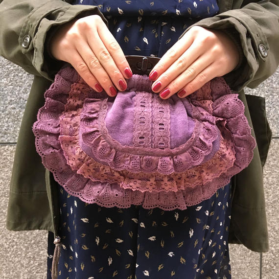 Vintage Lacy Hand bag