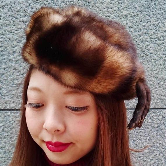 Vintage Weasel Hat