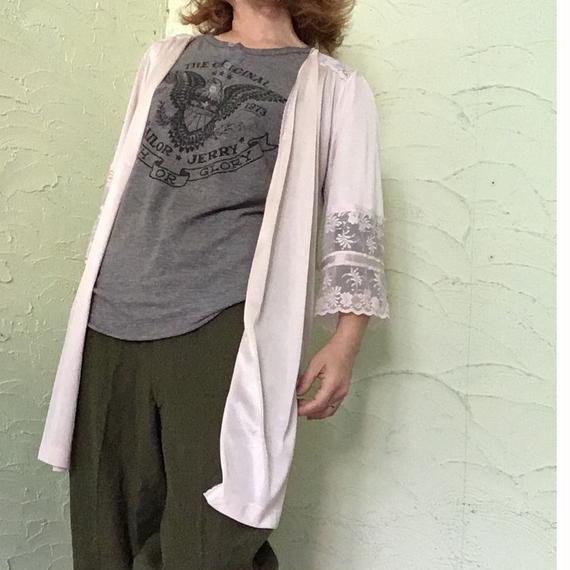 70's Vintage Rap Half Gown