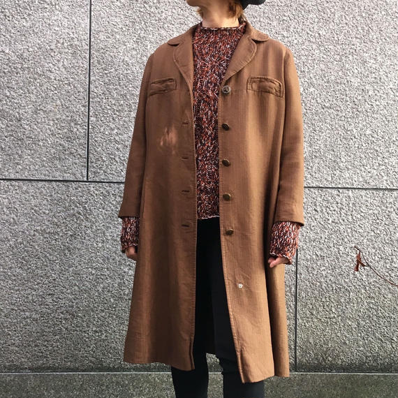 Vintage 50's Brown Coat