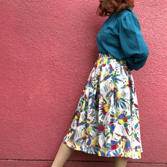 ヴィンテージ 柄スカート