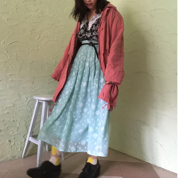 90's Vintage Silky Coat