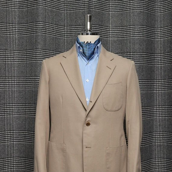 Original Drape Cut Jacket/Cotton Twill