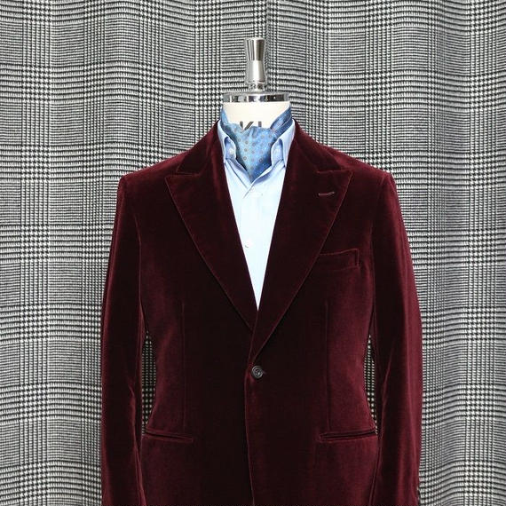 Smoking Jacket/Velvet Wine