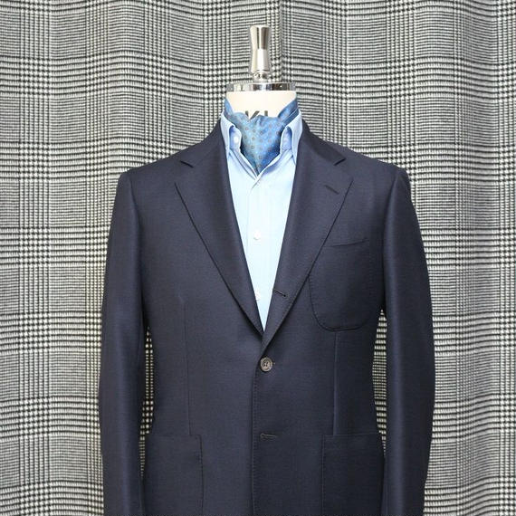 Original Drape Cut Jacket/Navy  Mesh
