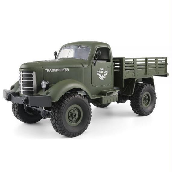 【送料無料!】JJRC Q61 1/16 2.G 4WDオフロード軍用トランククローラーRCカー S81323395【新品】